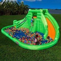 Blast Zone Crocodile Isle Inflatable Water Park