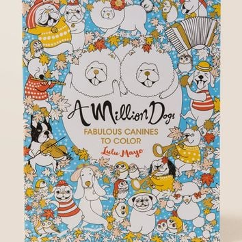 A Million Dogs Coloring Book