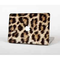 "The Leopard Furry Animal Hide Skin Set for the Apple MacBook Pro 13"" with Retina Display"