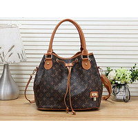 Louis vuitton hot selling lady's print shopping bag fashion shoulder bag