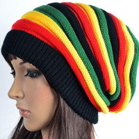Colorful Autumn Winte Beanie Hat  Knitting Hat Caps For Women = 1958114820
