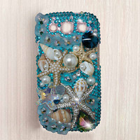 samsung galaxy s5 case samsung galaxy s4 case samsung galaxy note 3 case Bling starfish iPhone 6 case bling iphone 6 plus case iphone 5 case
