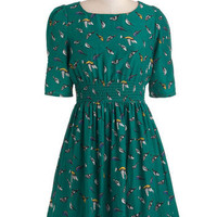Life's a Finch Dress | Mod Retro Vintage Dresses | ModCloth.com