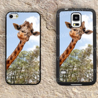 Upstage Giraffe iphone 4 4s iphone  5 5s iphone 5c case samsung galaxy s3 s4 case s5 galaxy note2 note3 case cover skin
