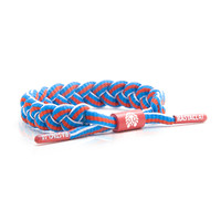 BRAIDED SHOELACE BRACELET: VICTOIRE