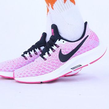 Bunchsun Nike Air Zoom Pegasus 35 Popular Women Breathable Sport Shoes Sneakers