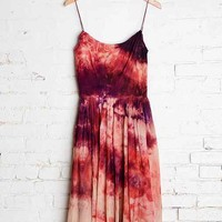 Vintage Dark Skies Sleeveless Dress - Urban Outfitters