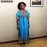Women Caftan Dress Kaftan dashiki Hippie Boho Maxi Gown Dress