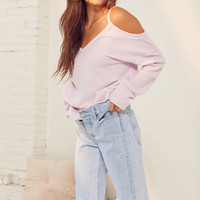 Out From Under Cold Shoulder Cozy Thermal Top | Urban Outfitters