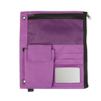 Staples® Full Binder Pencil Pouch, Purple | Staples