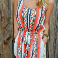 Morocco Romper - FINAL SALE