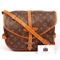 Louis Vuitton Saumur 30 Messenger Bag 5720 (Authentic Pre-owned)