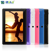 iRULU eXpro 1 Tablet X1 7 inch  Google Android 4.4.2 KitKat Tablet PC A33 Quad Core dual Camera 1.5GHz 8G ROM support WiFi