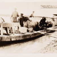 Vintage 1930s Snapshot PhotoTrappers North of the  Arctic Circle Alaska