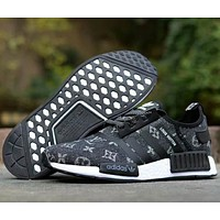 Adidas & Louis Vuitton joint NMD tide brand fashion casual shoes F-CSXY