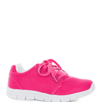 Delon Athletic Shoes - Hot Pink