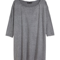H&M - Oversized Jersey Top