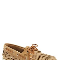 Men's Sperry 'Authentic Original' Perforated Leather Boat Shoe