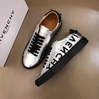 Givenchy Mens white 2020 Fashion Casual low Top Embroidery Monogram Breathable Leisure Sport Shoes Sneakers running shoe flats AAA quality US6-US11