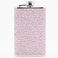 Gem Hip Flask in Pink - Urban Outfitters