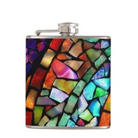 Stained Glass Flask