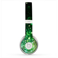 The Neon Glowing Grunge Drops Skin for the Beats by Dre Solo 2 Headphones