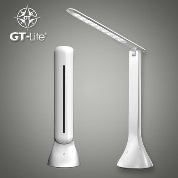 GT-Lite LED Desk Lamp Dimmable Touch Book Light USB Charging Reading Light Chargeable Table Lamp Portable Folding Lamp GTTL04
