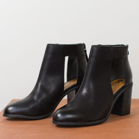 Combust Cut Out Bootie
