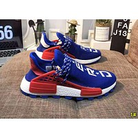 Adidas NMD Human Race Popular Women Men Casual Running Sports Shoes Sneakers 1#