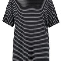 Plus Striped T Shirt Dress | Boohoo