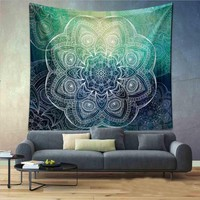 Indian Mandala Tapestry ~ Decorative Wall Hanging Tapestries 150x130cm