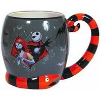 Jack And Sally Mug; 16 Oz.
