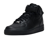 NIKE SPORTSWEAR AIR FORCE ONE MID SNEAKER - Black | Jimmy Jazz - 315123