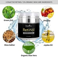 Retinol 2.5% Anti Aging Acne Face Cream w/Vitamin E and Hyaluronic Acid