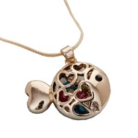 Adorable Fish Necklace