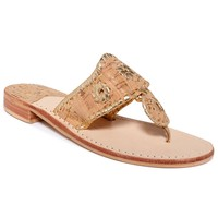 Jack Rogers Classic Navajo Nappa Valley Flat Thong Sandals