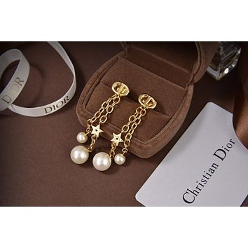 Dior Woman Fashion Accessories Fine Jewelry Ring & Chain Necklace & Earrings