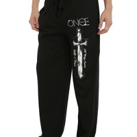One Upon A Time Magic Quote Guys Pajama Pants