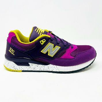 New Balance 530 '90s Remix Voltage Violet Womens Sneakers W530BAB