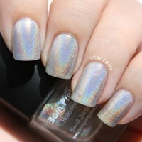 Born Pretty  Holographic Nail Polish Shinny Glitter Nail Varnish Lacquer with Hologram Effect