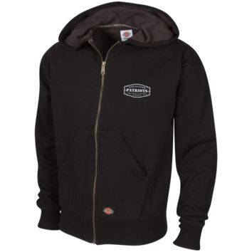 The Ultimate Fan Of The New England Patriots Embroidered Thermal Fleece Hoodie
