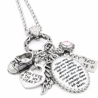 Loss of baby personalized necklace - Baby memorial necklace