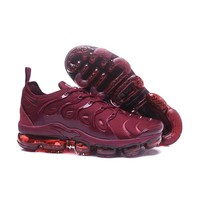 2018 Nike Air VaporMax Plus TN Red Wine Sport Running Shoes - Best Online Sale