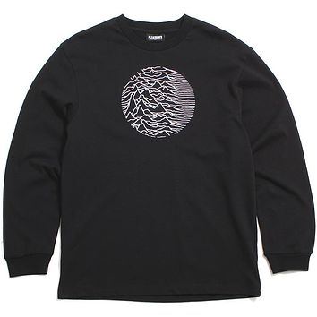 Joy Division x PLEASURES Lost Control Heavyweight Long Sleeve Black