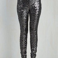 80s Skinny On Your Sparkle, Get Set, Go! Pants
