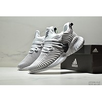 ADIDAS tide brand cushioning casual breathable men's wild sports shoes Grey