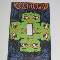 Light Switch Cover - Light Switch Psychedelic Paranoid Groovy