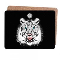 Snow Tiger Placemat | chobopop