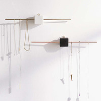 Stone Block Hanging Jewelry Organizer - Urban Outfitters