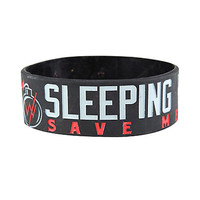Sleeping With Sirens Save Me A Spark Rubber Bracelet